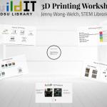 Fall 2015 3D Printing Workshop