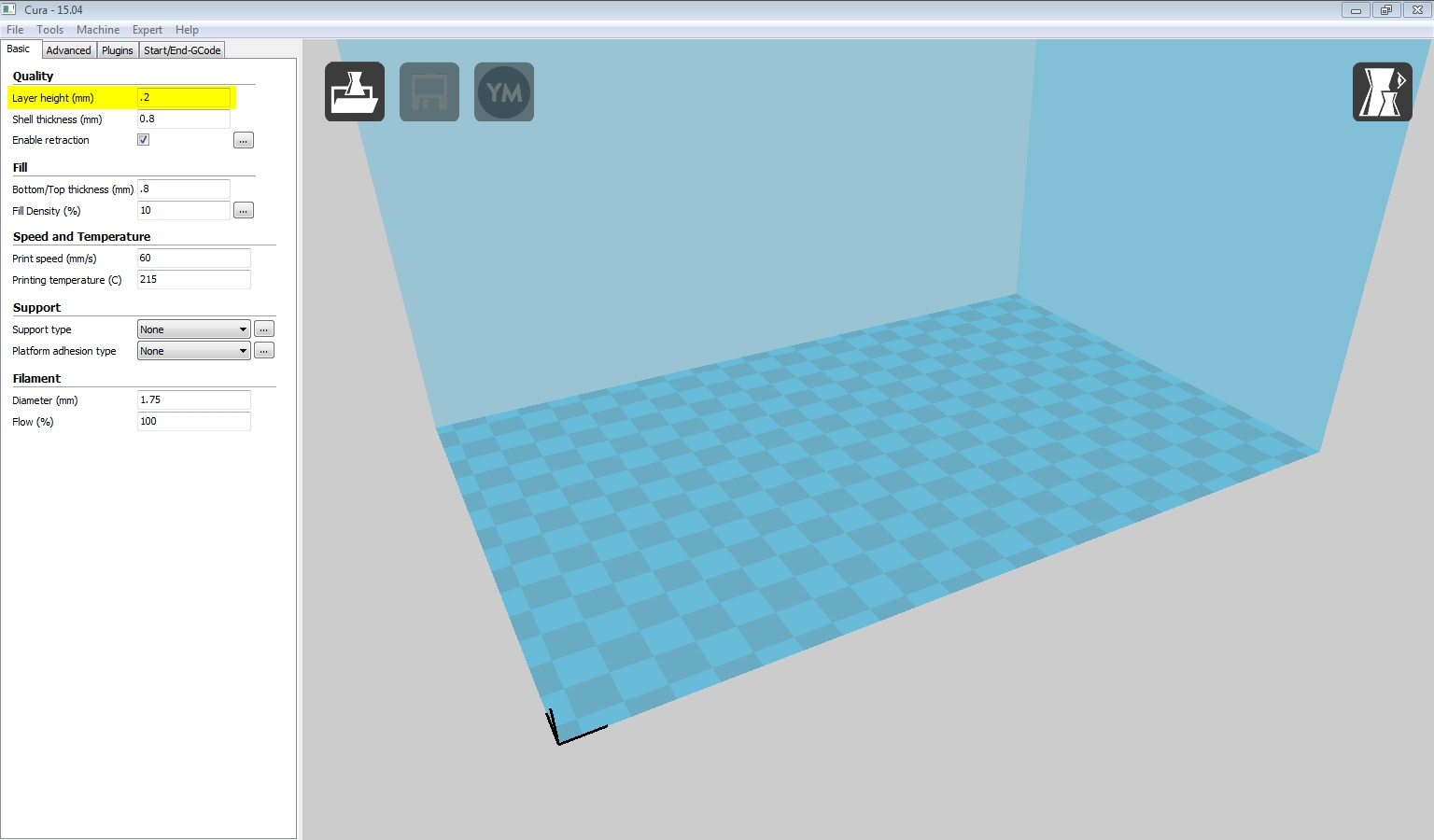 cura layer height