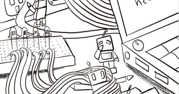 coloring-electronics